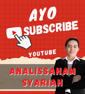 subscribe channel youtube analis saham syariah